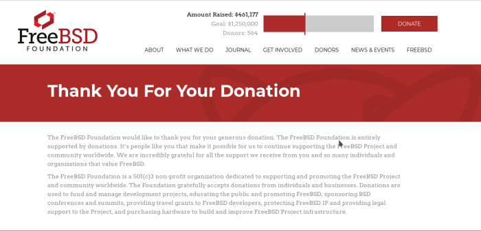 freebsd-donate