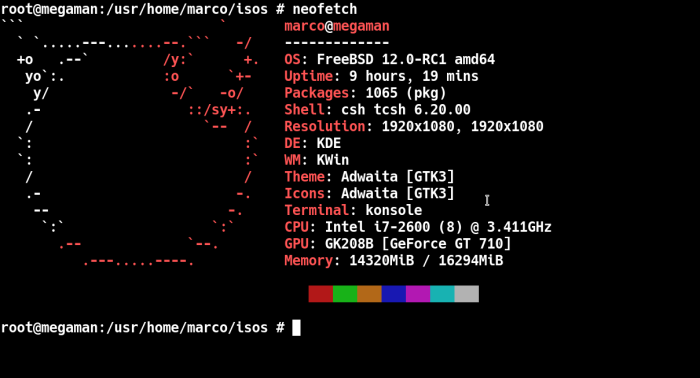 neofetch
